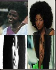 Female Afros